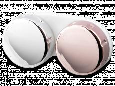 Linsask med spegel yta - rosa / silver
