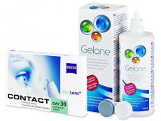 Carl Zeiss Contact Day 30 Compatic (6 linser) + Gelone linsvätska 360 ml