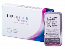 TopVue Air Multifocal (1 lins)
