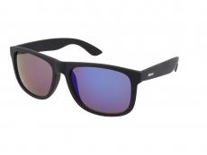 Solglasögon Alensa Sport All Black Blue Mirror