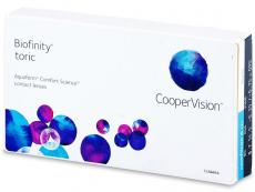 Biofinity Toric (3linser)