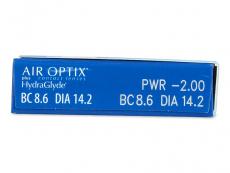 Air Optix plus HydraGlyde (3 linser)