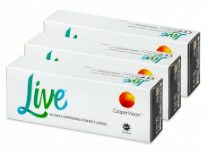 Live Daily Disposable (90 linser)