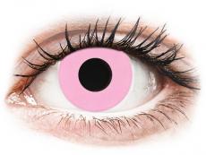 CRAZY LENS - Barbie Pink - Endags dioptrisk (2 linser)