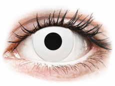 CRAZY LENS - WhiteOut - Endags dioptrisk (2 linser)