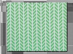Rengöringsduk för glasögon - grön och vit