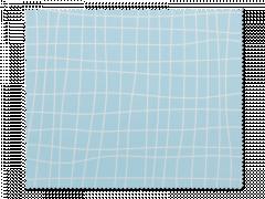 Rengöringsduk för glasögon - ljusblått rutnät