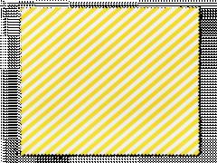 Rengöringsduk för glasögon - gula och vita ränder