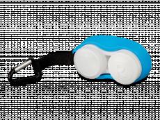 Linsfodral med karbinhake - blå