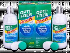 OPTI-FREE RepleniSH Linsvätska 2 x 300ml
