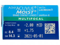 1 Day Acuvue Moist Multifocal (30 linser)