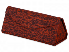 Rött fodral för glasögon - Brindle