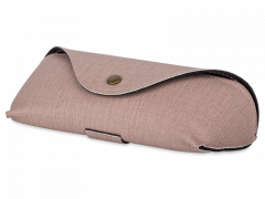Rosa fodral för glasögon SH224-1