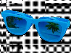 OptiShades kontaktlinsfodral - blå