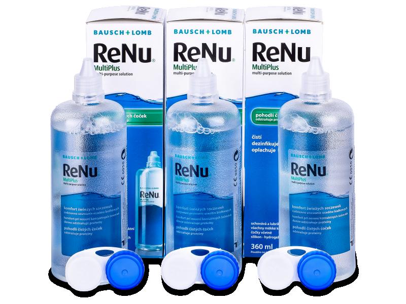 ReNu MultiPlus Linsvätska 3 x 360 ml