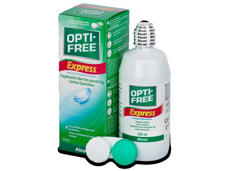 OPTI-FREE Express Linsvätska 355ml