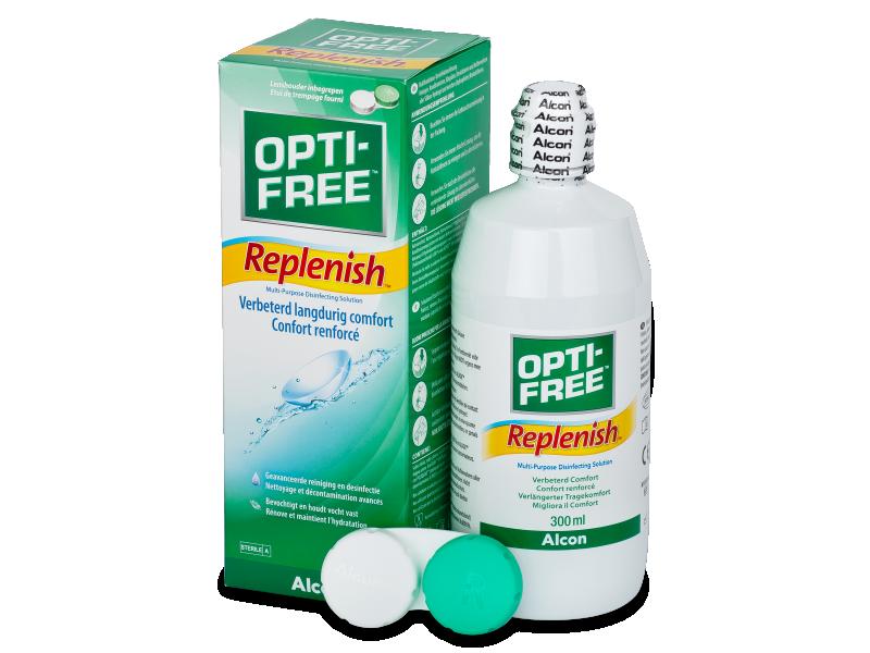 OPTI-FREE RepleniSH Linsvätska 300ml