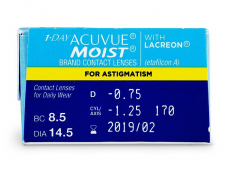 1 Day Acuvue Moist for Astigmatism (30linser)
