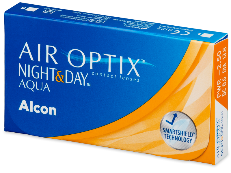 Air Optix Night and Day Aqua (6 linser)